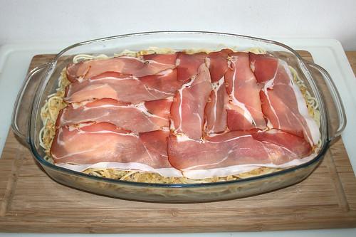 32 - Restlichen Bacon darauf verteilen / Add remaining bacon