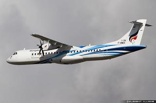 Bangkok Airways ATR 72-600 (72-212A) cn 1194 F-WWEK // HS-PZA