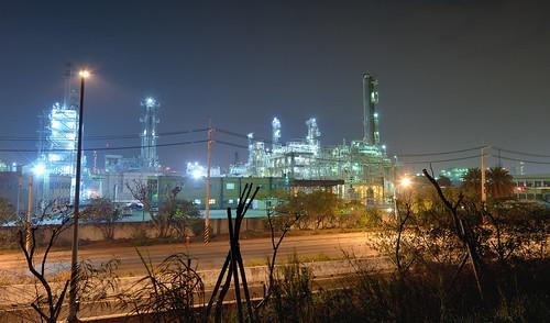 taiwan kaohsiung nightview nightphoto 台灣 高雄 臺灣 台湾 industrialarea 高雄市 kaohsiungcity 林園工業區 工場夜景 林園區 林園堤防 工業三路