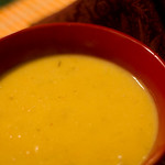Pureed Split-Pea and Rutabaga Soup