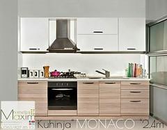 Kuhinja MONACO-sjaj 2,4m