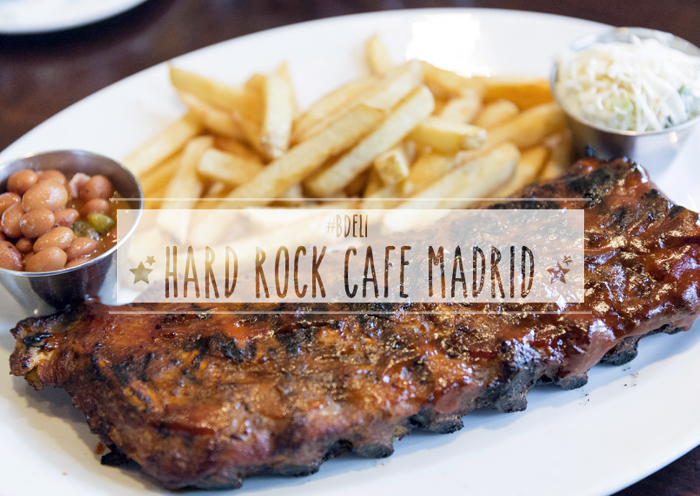 #Bdeli barbara crespo restaurants cool fashion blogger blog de moda hard rock cafe madrid plaza colón hamburguesas costillas madrid