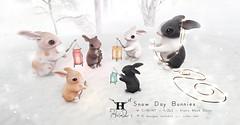 +Half-Deer+ Snow Day Bunnies for C88