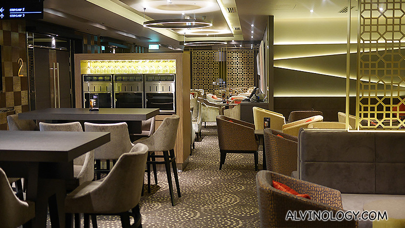 Gold Class Lounge