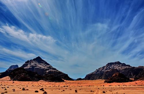 sky clouds nikon desert wadirum jordan
