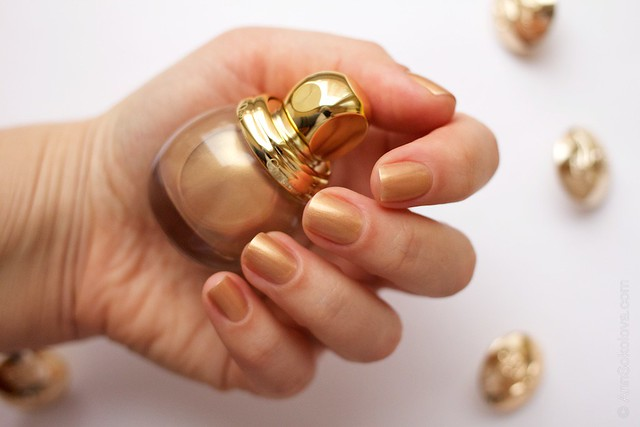 03 Dior Diorific Vernis #241 Gold Equinoxe swatches