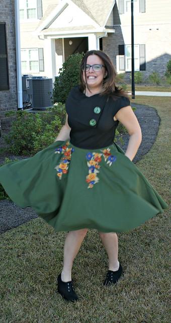 dress spinning