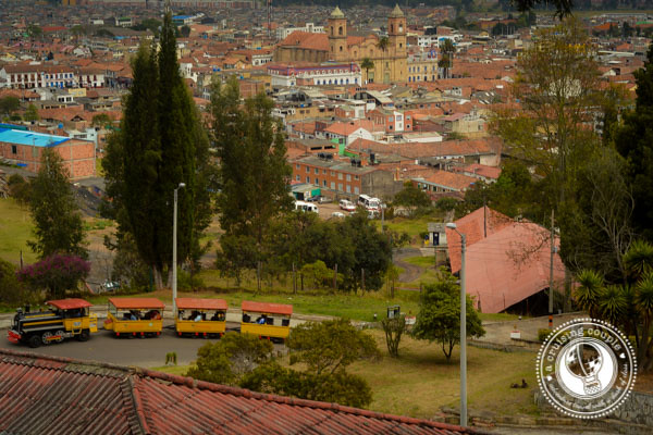 Zipaquira Salt Cathedral View of Town