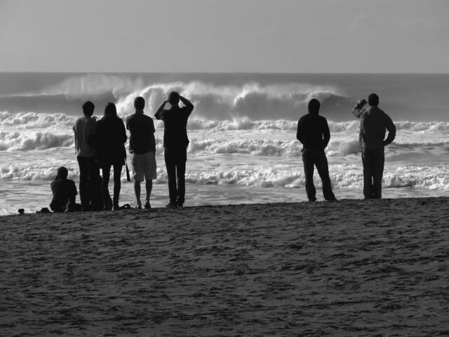 High Surf after a storm; Ocean Beach, San Francisco.   December 13, 2014