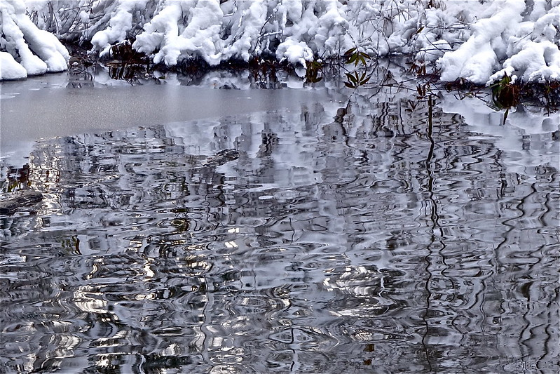 icy ripples