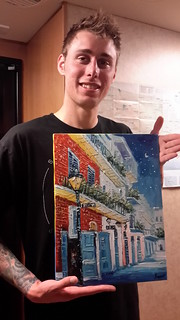 Kyle and his NOLA streetscape