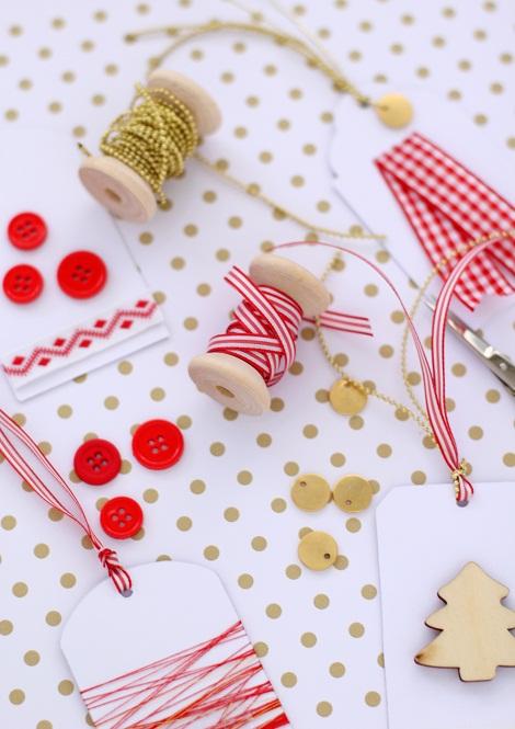Hediye Etiketi Dediğin - Gift Tag Idea (Tag Along Christmas Blog Hop)