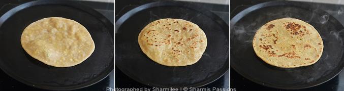 How to make Paneer paratha - Step3