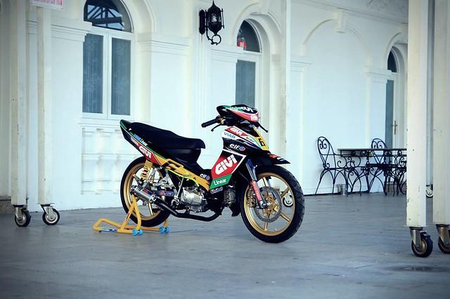 Jupiter độ phiên bản chạy sân Malaysia Cub Prix 4