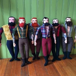 All the handsome lumberjacks!