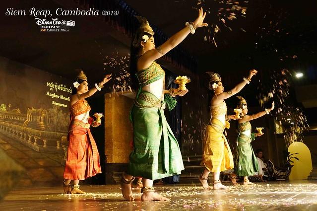 Siem Reap, Cambodia Day 3 - Apsara Dance 01
