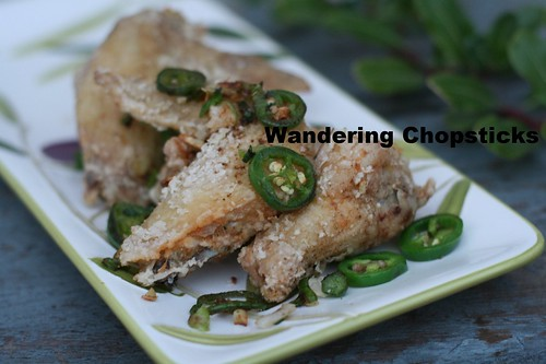 Chinese Deep-Fried Chicken Wings with Spicy Salt 8