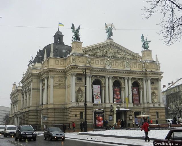 Львов, оперный театр, им.Заньковецкой