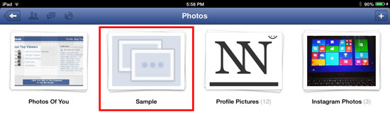 How to Upload Photos or Pictures on Facebook using iOS 4