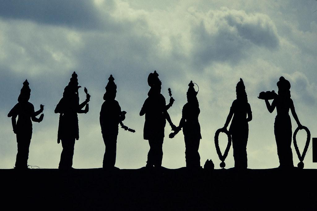 Hindu Silhouette