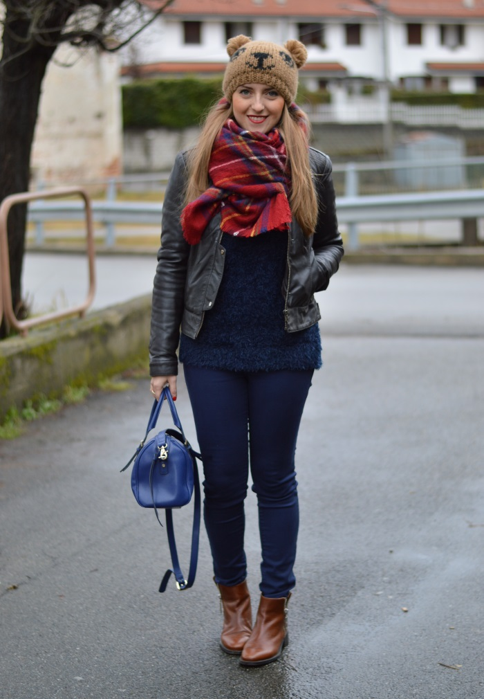 beanie orsacchiotto, Benetton, Tally Weijl, Conbipel, Zara, wildflower girl, fashion blog (7)