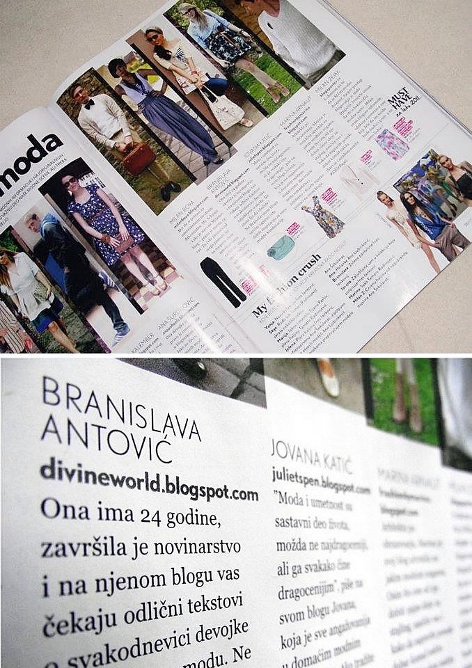 Branislava Antovic u magazinu Lepota & Zdravlje