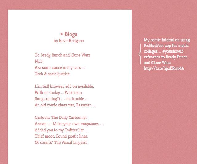 PoetTweet my Twitter