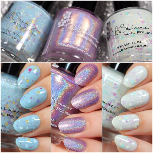 KBShimmer Spring 2015 Swatches