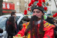 Portrait du Nouvel An chinois