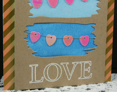 Heart Sequin Love Card | shirley shirley bo birley Blog