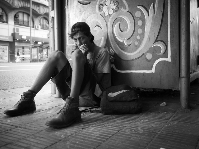 Photo:playing the harmonica By Nicolas Alejandro Street Photography