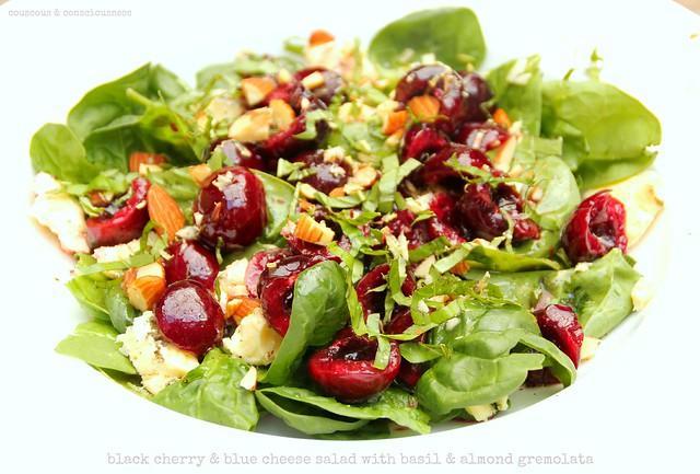 Black Cherry & Blue Cheese Salad 2