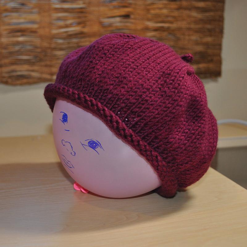 Woolywormhead beret