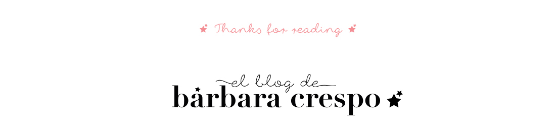 El blog de Bárbara Crespo Thanks for reading