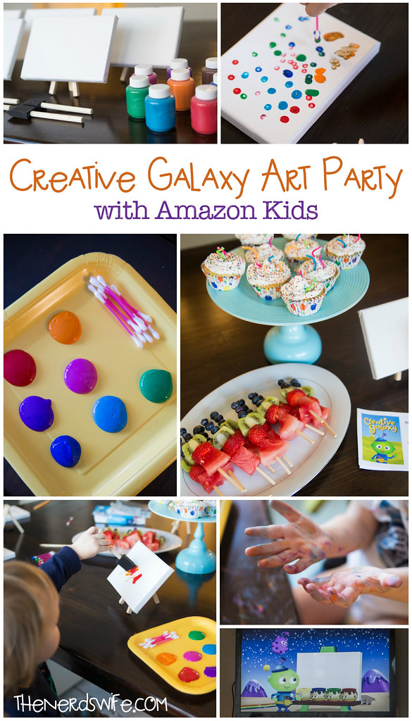Creative Galaxy Amazon Kids Art Party