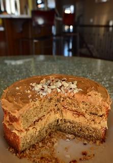 Coffee and Brazil Nut Cake