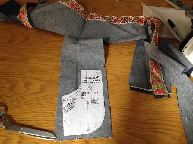 pants from UFO denim skirt