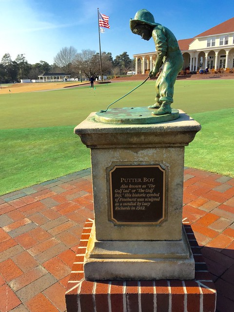 Pinehurst Resort - Statue