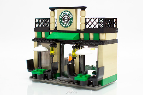 lego starbucks minishop