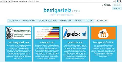 BerriGasteiz, web referencial de la educación vasca