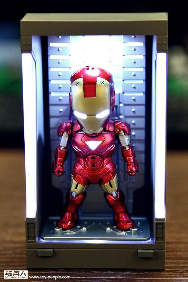 史上最威的Q版鋼鐵人!野獸國玩具「鋼鐵人3-豪華套裝組」最速開箱!~