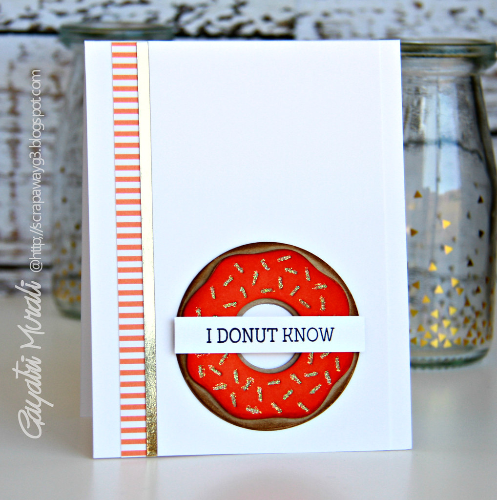 Donut know card