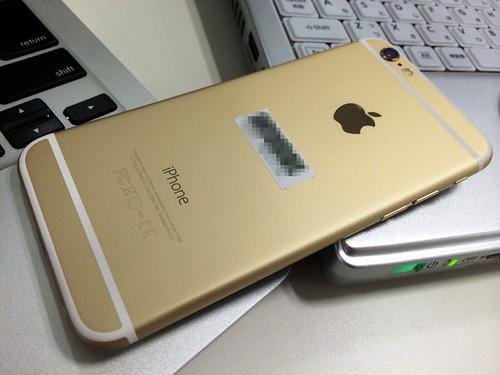 iPhone 6 になりました!