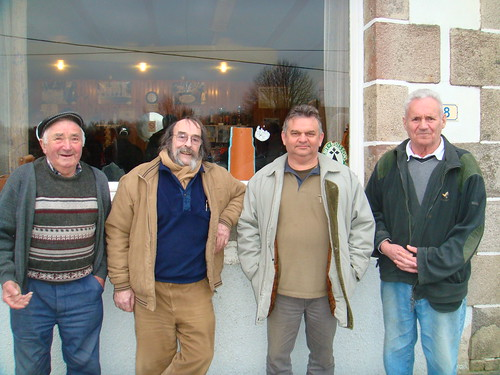 08/03/2015 - Kerlanguis (Kermouster en Plougasnou) : Les finalistes du concours de boules plombées en doublettes formées
