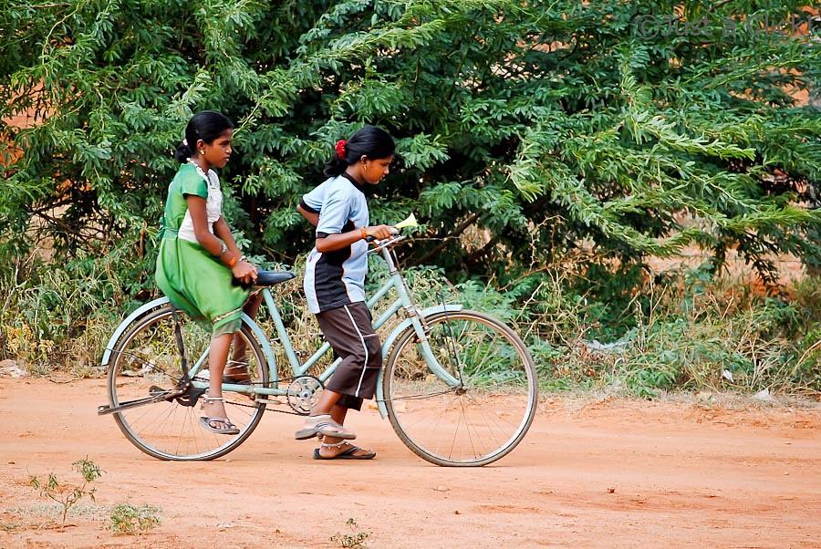 Childhood Cycle Ride