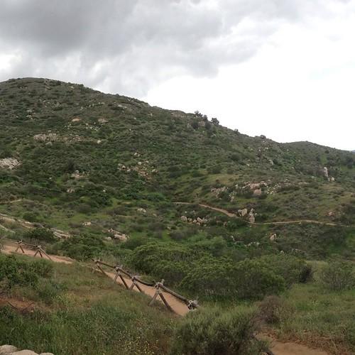 From Raptor Ridge. Still no rain. Silly weather forecast.
