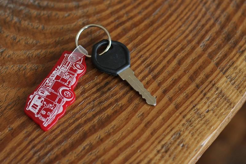 a firetruck needs a key!