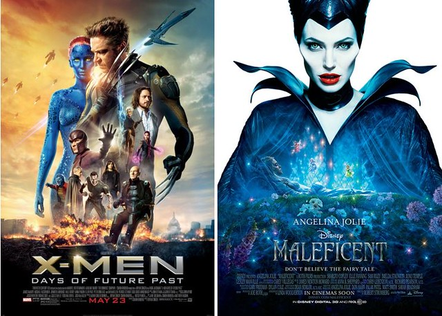 3 XMen & Maleficent