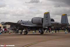 81-0954 SP - A10-0649 - USAF - Fairchild OA-10A Thunderbolt II - Fairford RIAT 2007 - Steven Gray - IMG_5980