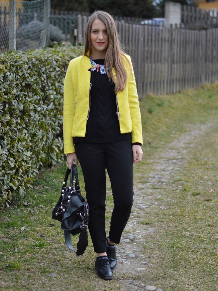 wildflower girl, blazer, sheinside, blazer, giallo, outfit (2)